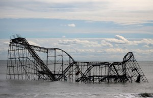 Roller Coaster at Seaside Heights