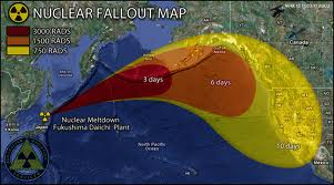 Fallout Map from Fukushima Disaster