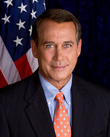 John Boehner, US Speaker of the House