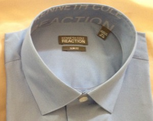 Shirt, Label in collar