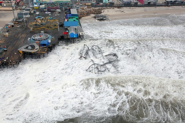 Jersey Shore Damage from Hurricane Sandy. U.S. Air Force photo by Master Sgt. Mark C. Olsen