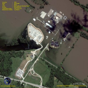 Fort Calhoun plant, seen from above.